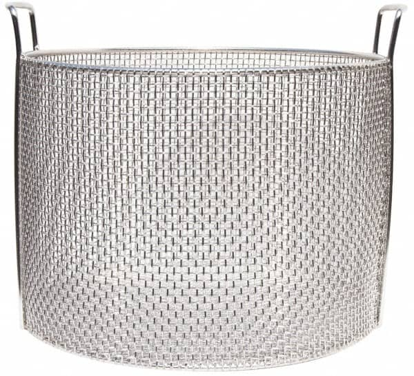 Stainless Steel Mesh Basket | MSCDirect.com