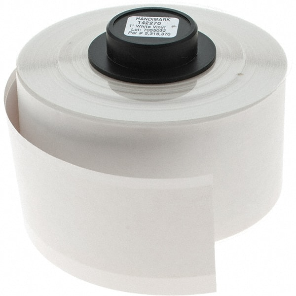This is a photo of Gutsy Brady Handimark Portable Label Maker Load New Supply