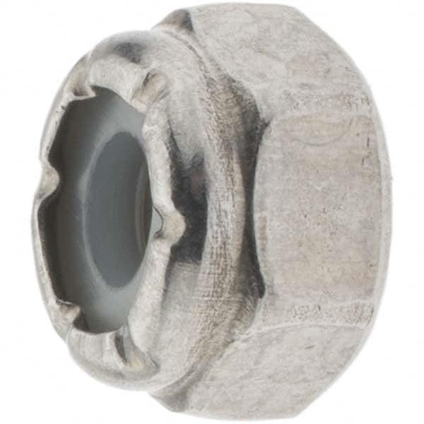 316 Stainless Steel Nylon Lock Nut UNC #10-24 Qty 100