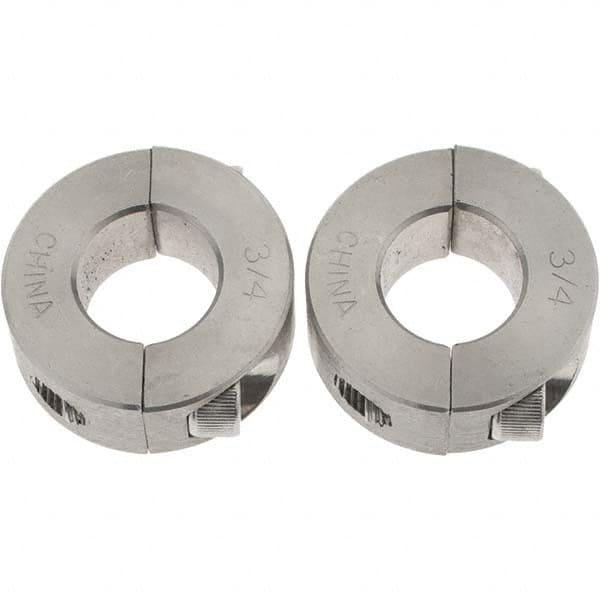 "Steel Shaft Collar Clamp 3/"" bore x 4.1//4/""  OD x 1.3//8/"" wide"