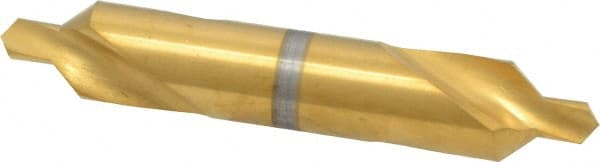 #6 Plain Cut 82/° Incl Angle High Speed Steel Combo Drill /& Countersink 1//2 Body Diam Keo