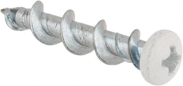10-13X1 1//4 Phillips Oval Full Body Wood Screw Zinc Box Qty 2,000 BC-1020DPO by Shorpioen