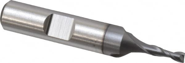 "7//8 x 3//4/"" Shank 2F Cobalt Steel Single End Mill"