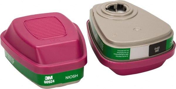 P100 Respiratory Protection 3M Ammonia//Methylamine//Filter 60924 Pack of 2