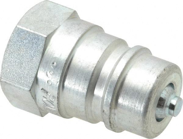 11343-8-8 Hydraulic Hose Fitting 1//2 Male NPTF Pipe Swivel Straight Made USA