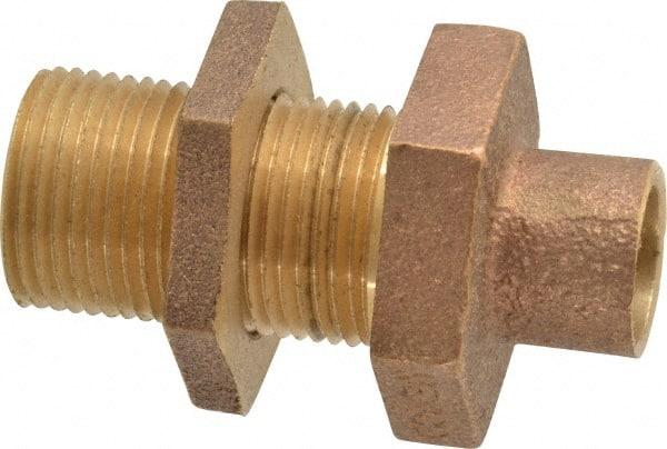 Quot copper pipe bulkhead msc