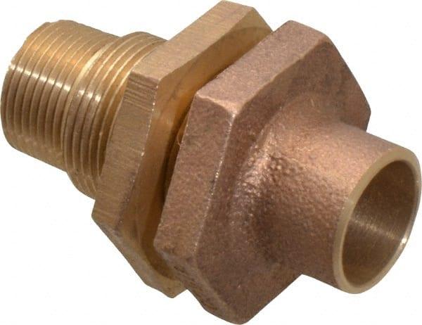 Inch copper pipe bulkhead msc