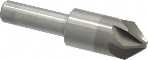 """Ford 94175 1/"""" x 82° HSS 3 Flute Aircraft Style Countersink M.A"""