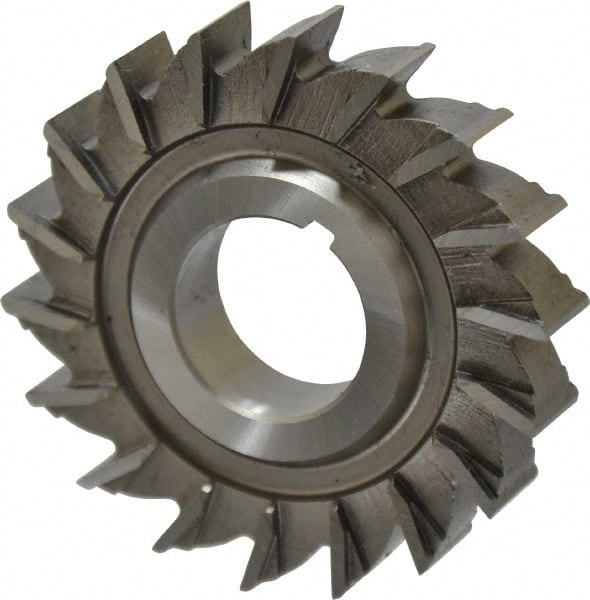 """Straight Tooth 2 x 3//8 x 1//2/"""" HSS Side Milling Cutter"""