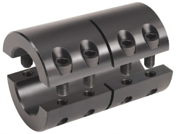 5.7500 in Bore 5.1180 in Length Climax Metal Products C405E-575 7.8740 in OD Keyless Locking Rigid Coupling Steel