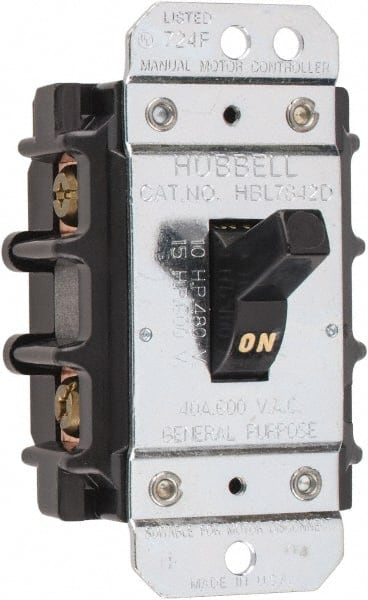 2 poles, 40 amp, open toggle manual motor 73122046 msc Wiring a Starter Relay