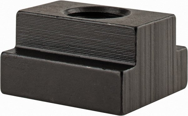 TE-CO Tapped End Clamp Black Oxide Finish 4-1//2 Long x 5//8 Stud Size