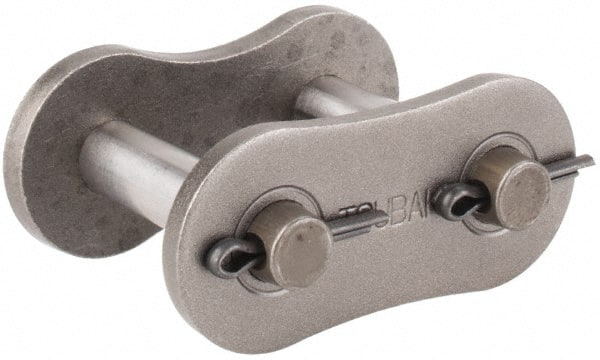 Tsubaki Single Strand Connecting Roller Chain Link 120 ANSI Chain Size Carbon