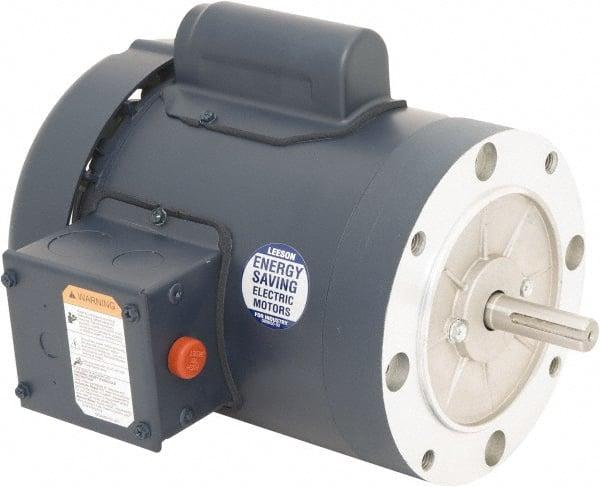 Leeson dc motors for Electric motor enclosure types