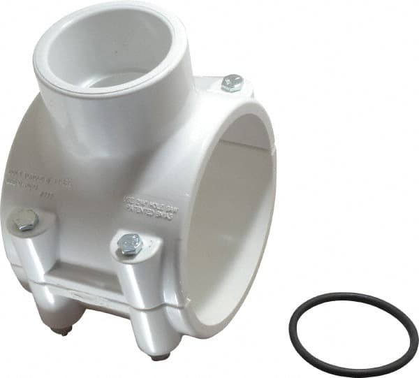 Pvc Pipe Clamp On Saddle With Epdm O Ring