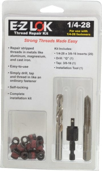 Thread Insert Tool Kits Msc Industrial Supply