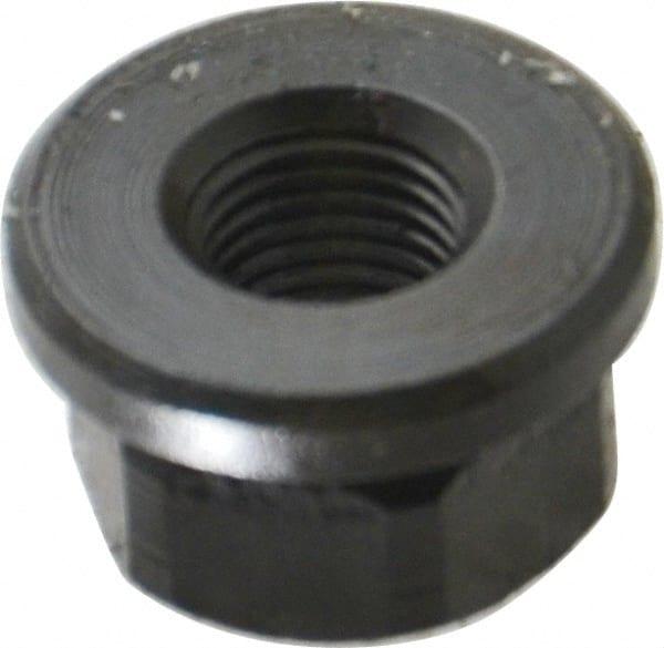 Steel 1-1/8 Inch Flange Nut   MSCDirect com