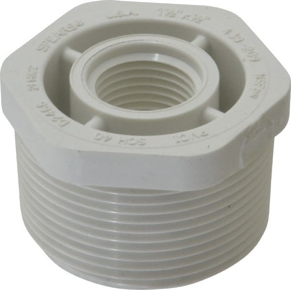 WorkSmart 1-1/2 x 1/2  sc 1 st  MSC Industrial Supply & 1/2 Inch Plastic Pipe Bushing | MSCDirect.com