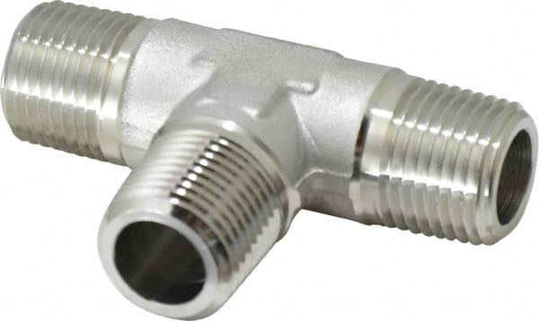 Stainless steel tee fittings mscdirect
