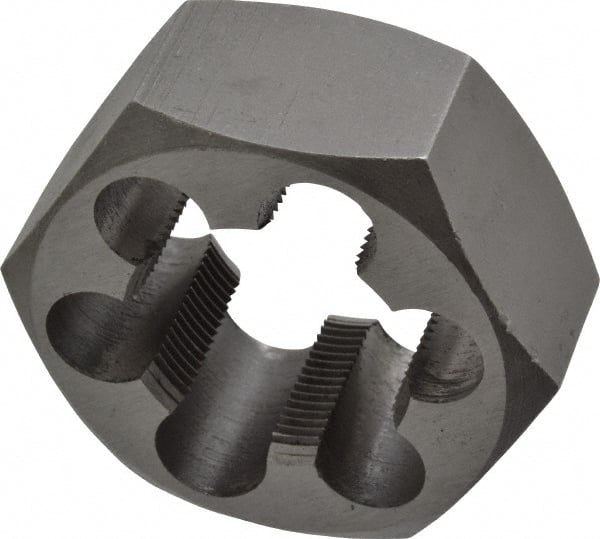 1-1//4-7 TPI Carbon Steel Hexagon Rethreading Die