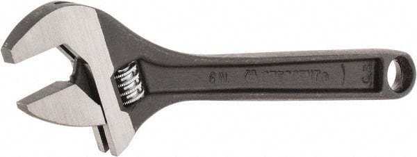 Crescent AC16BK Adjustable Wrench Plated Finish 6-Inch