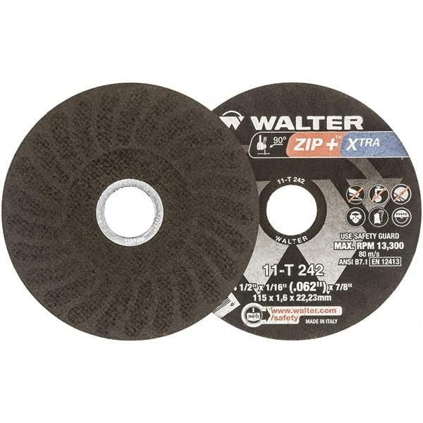 6 in Dia.045 in Thick Cut-Off Wheel Type 27 60 Grit Zirconia//Alum. 92 Pack