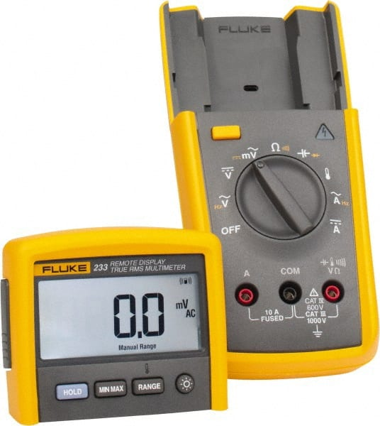 Fluke - 233, CAT IV, CAT III, 1,000 VAC/VDC, Digital True