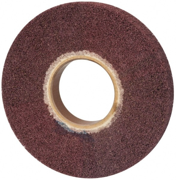 Density: 9 Non Woven Abrasive Heavy Deburring Wheels 6 x 1//2 x 1 Abrasive: S Grit: F
