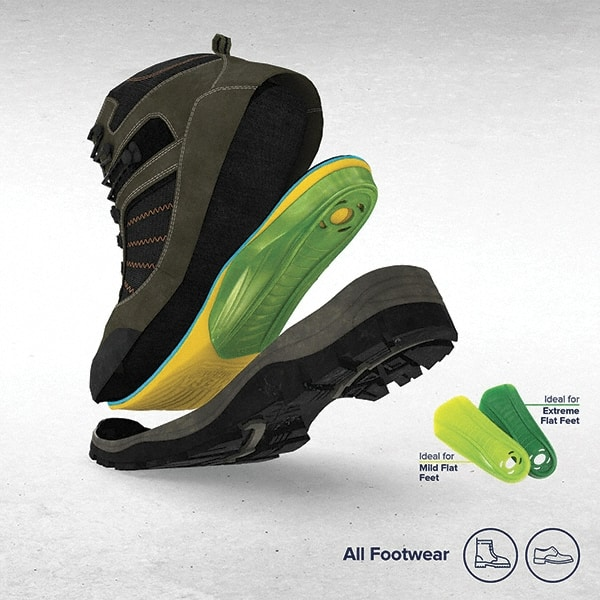Pavers Unisex Memory Foam Insoles Size 3-11 Comfortable Shoes Footwear Accessory