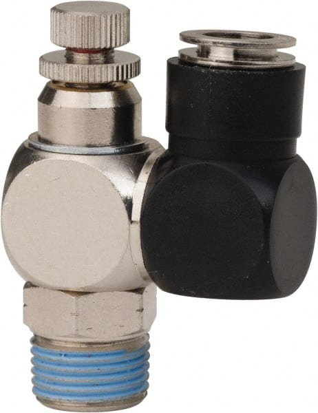 3//8 Female NPT in-Port Coilhose Pneumatics BLSV06F06M Lockout Slide Valve 3//8 Male NPT Outlet