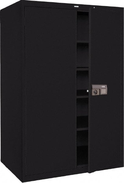 4 Shelf Locking/Lockable Storage Cabinet 78410180 - MSC