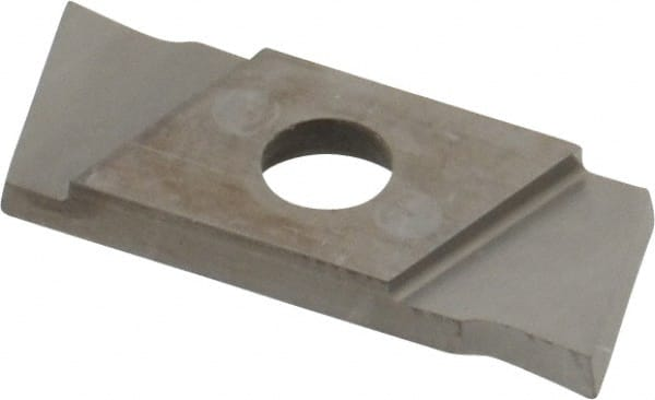 7 Left Hand Lead Angle GIE1.5 0.0591 Cutting Width Carbide Cutoff Insert TiN Coated