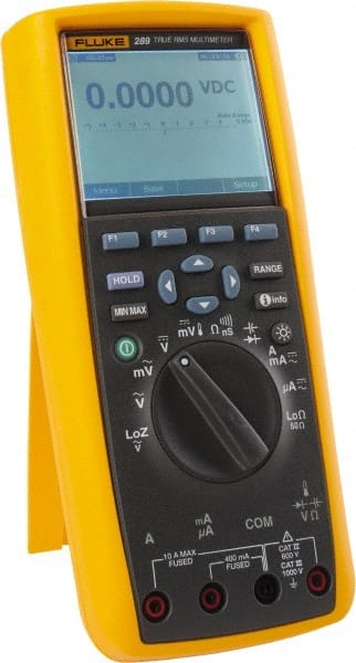 Fluke - 289, CAT IV, CAT III, 1,000 VAC/VDC, Digital True