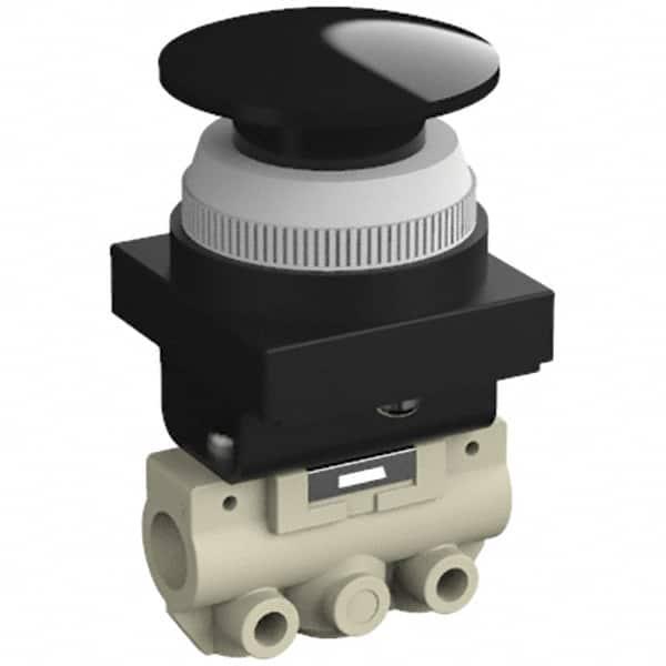 SMC Black Push Button Pneumatic Control Valve VM130-01-30B