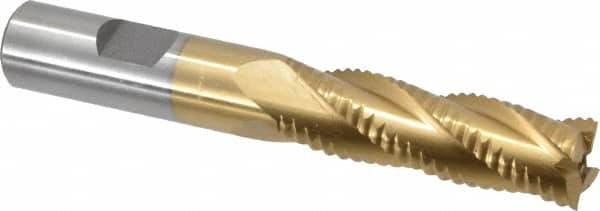 """USA 2/"""" Roughing End Mill 8 Flute 5"""" Flute Length 2/"""" Shank"""