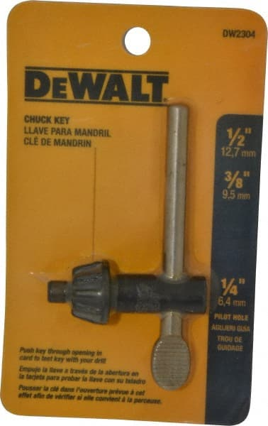 2 Sizes Professional Drill Chuck Wrench 4 in 1 Chuck Key Power Drilling Tool