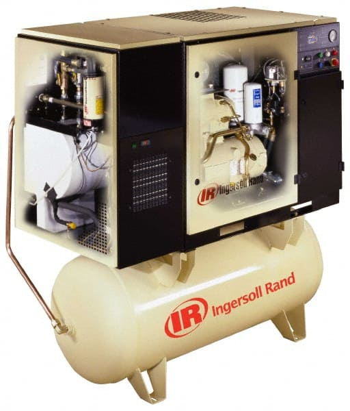 Ingersoll-Rand - 7 5 hp, 80 Gal Stationary Electric Rotary