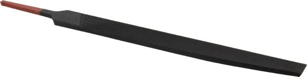 Two Rounded Edges 8 Length American Pattern Single Cut Rectangular 25//32 Width Simonds Mill Hand File Coarse 9//64 Thickness 8 Length 25//32 Width 9//64 Thickness Simonds International