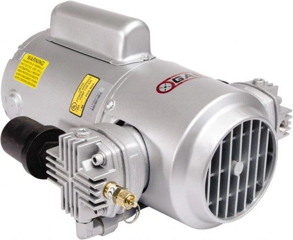 Gast 1 3 Hp 3 1 Cfm 50 Max Psi Piston Compressor Pump 81091639 Msc Industrial Supply