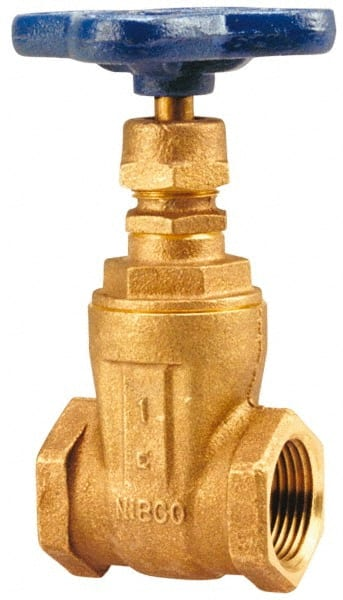 "3//4/"" Inch Gate Valve Female Threaded NPT 200 WOG Stainless Steel 316"