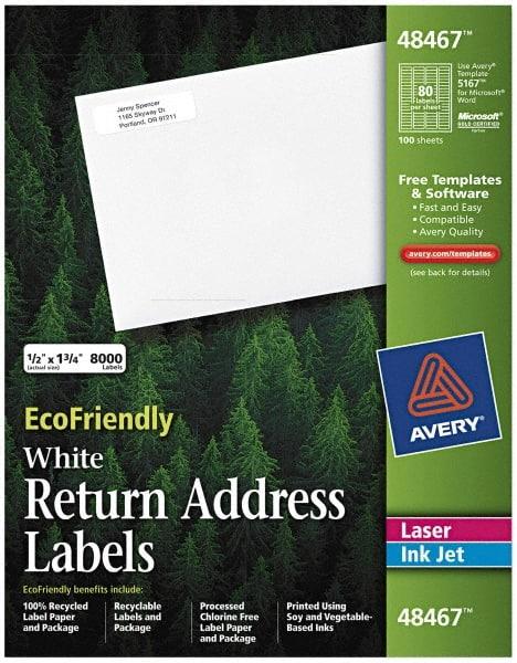 eco friendly return address label paper 81629651 msc