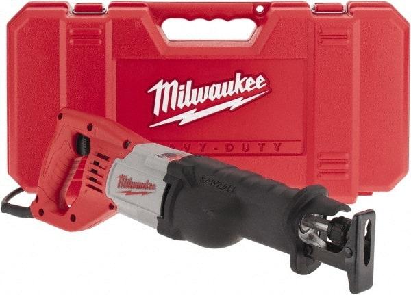 "Milwaukee 12 Amp Sawzall Reciprocating Saw with 1-1//8/"" Stroke 6519-31 New"