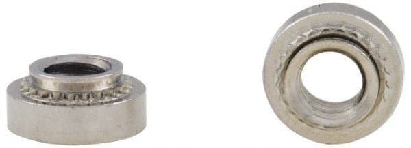 1//2 18-8 Stainless Steel Captive Panel Screw with 4-40 Thread Size and Knurled Head Type