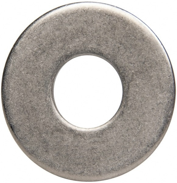 Plain Finish 0.03 Nominal Thickness #10 Hole Size 7//16 OD 316 Stainless Steel Flat Washer 13//64 ID Pack of 100