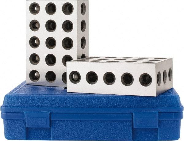 Hardened Steel 1-2-3 Block Setup Block 0.000... SPI 0.0001 Squareness Per Inch