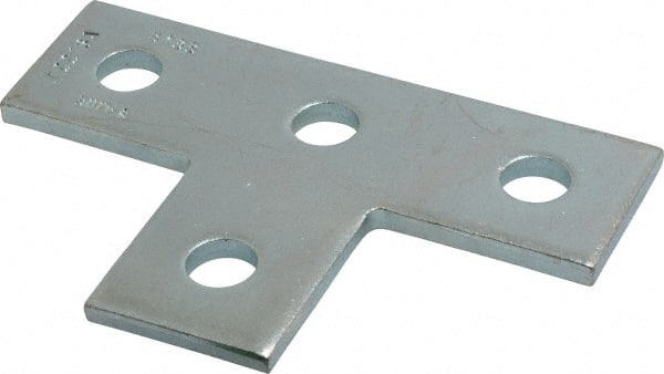 Cooper B-Line - Zinc Plated Carbon Steel Flat Tee Strut Fitting