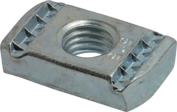 Unistrut Spring Nut Capacity 1 2 Quot Rod Zinc Plated Carbon