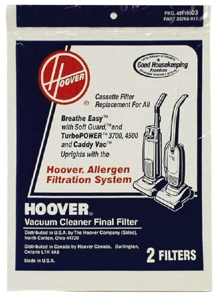 Hoover - Upright Vacuum Cleaner Allergen Filter - 82674086