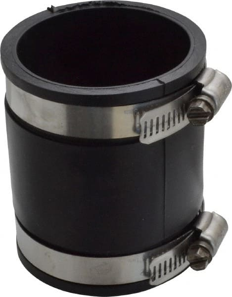 Quot pvc flexible pipe coupling with clamp msc