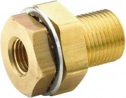 1//2 NPT Male x 1//2 NPT Female x 1//2 NPT Female Street Tee Parker Brass Pipe Fitting